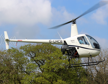 R22 helicopter trial Lesson Image